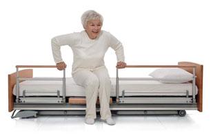 H bergement et soins la personne g e - Fauteuil lit pour une personne ...