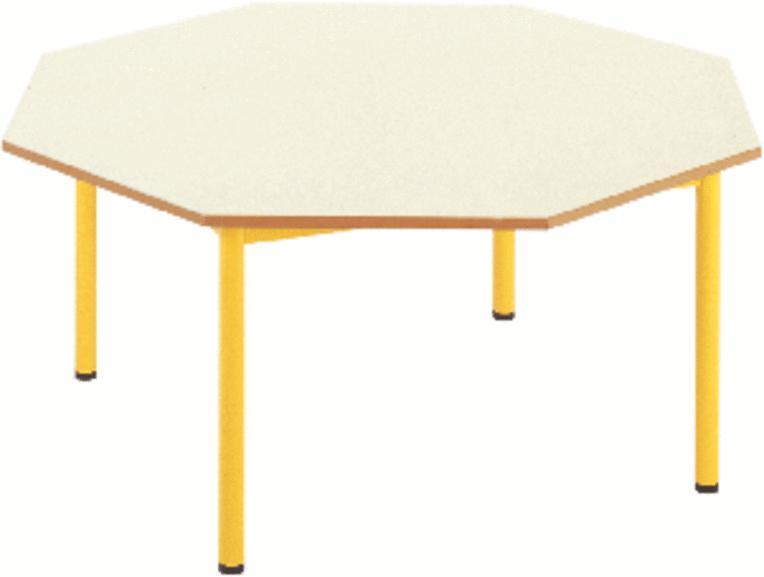 table octogonale diabolo 120 cm taille 2 plateau On table octogonale