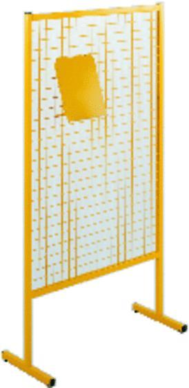 grille d 39 exposition monaco gris alu. Black Bedroom Furniture Sets. Home Design Ideas