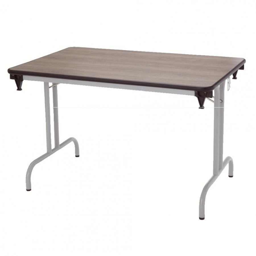Table pliante dune 120x80 pi tement poxy - Pietement pour table pliante ...