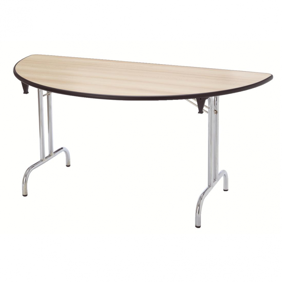 Tables de cuisine pliantes don hierro table pliante for Table ronde escamotable