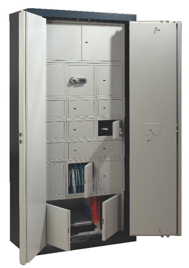 coffret int rieur 98 l avec serrure lectronique 1 compartiment pour armoire forte. Black Bedroom Furniture Sets. Home Design Ideas