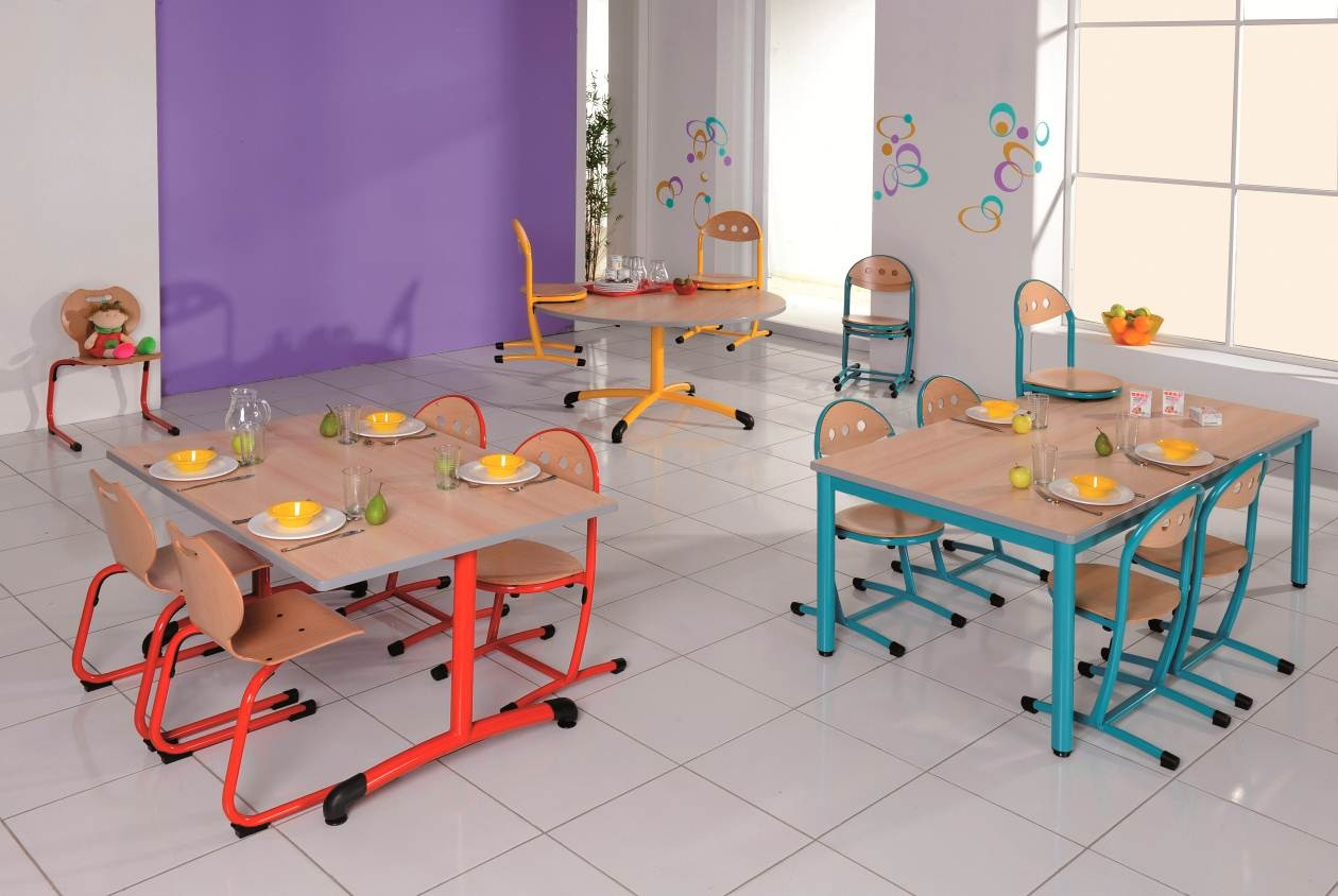 mobilier cantine scolaire occasion. Black Bedroom Furniture Sets. Home Design Ideas