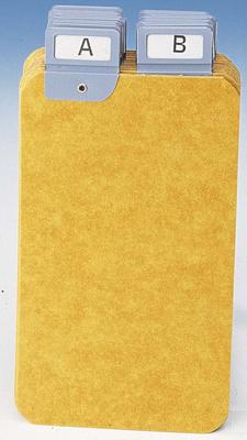 intercalaires pour boite fiches format portrait a5 carte lustr e 24 touches. Black Bedroom Furniture Sets. Home Design Ideas