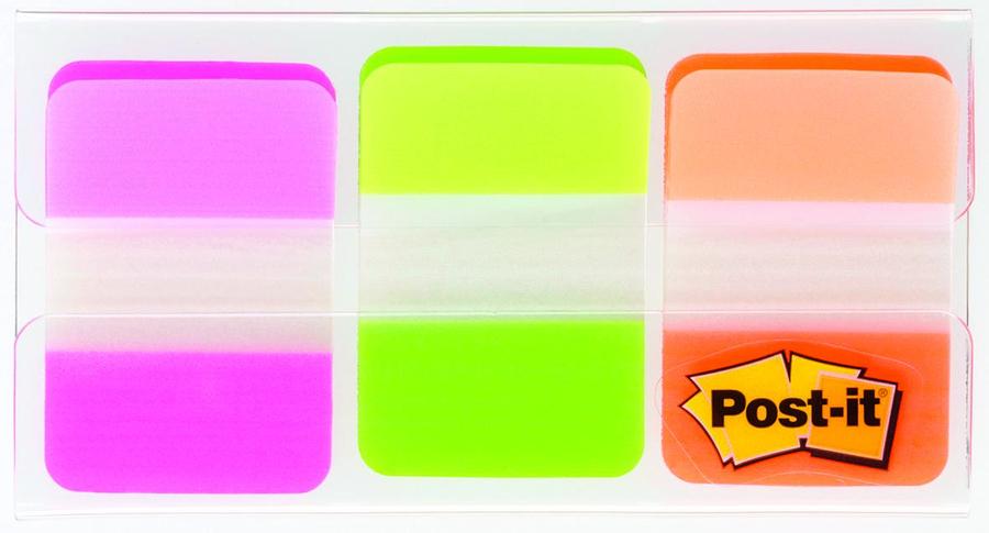marque pages rigide repositionnable post it 38 x 25 mm 3 coloris pastels lot de 66 index. Black Bedroom Furniture Sets. Home Design Ideas