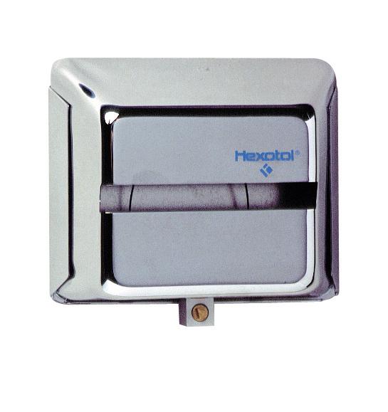 distributeur de papier toilette acier chrom pour 1 paquet. Black Bedroom Furniture Sets. Home Design Ideas
