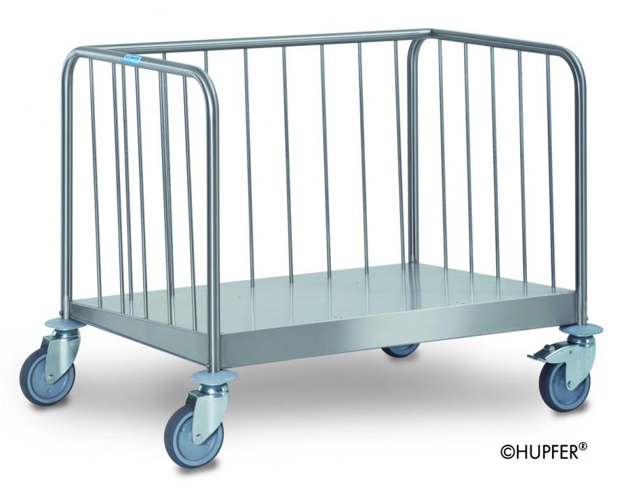 Chariot porte assiettes bas inox pour 300 400 for Porte assiettes pour cuisine