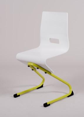 chaise appui sur table genoux spring coque bois et pi tement acier. Black Bedroom Furniture Sets. Home Design Ideas