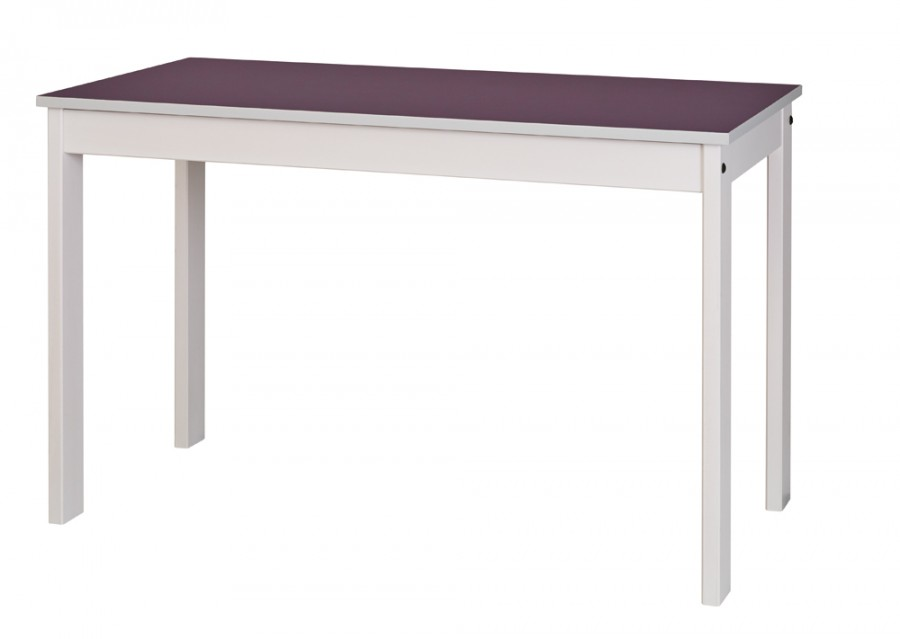 Table bureau nyxos 120 x 60 cm structure h tre verni teint for Table bureau