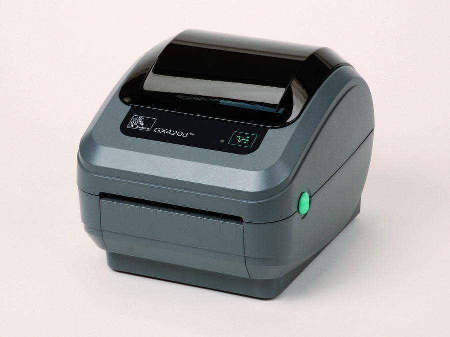 imprimante codes barres bureautique faible volume zebra gx420d 104 mm 8 mo. Black Bedroom Furniture Sets. Home Design Ideas