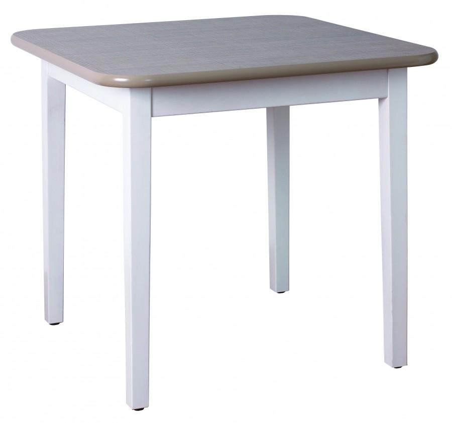 table carr e 4 pieds vauban 70 x 70 cm. Black Bedroom Furniture Sets. Home Design Ideas