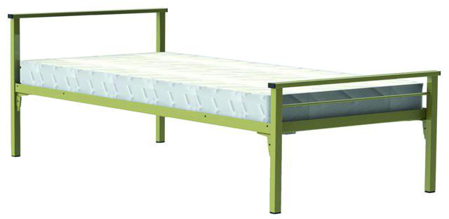 lit 1 traverse 90 x 200 cm yun sommier treillis m tallique. Black Bedroom Furniture Sets. Home Design Ideas