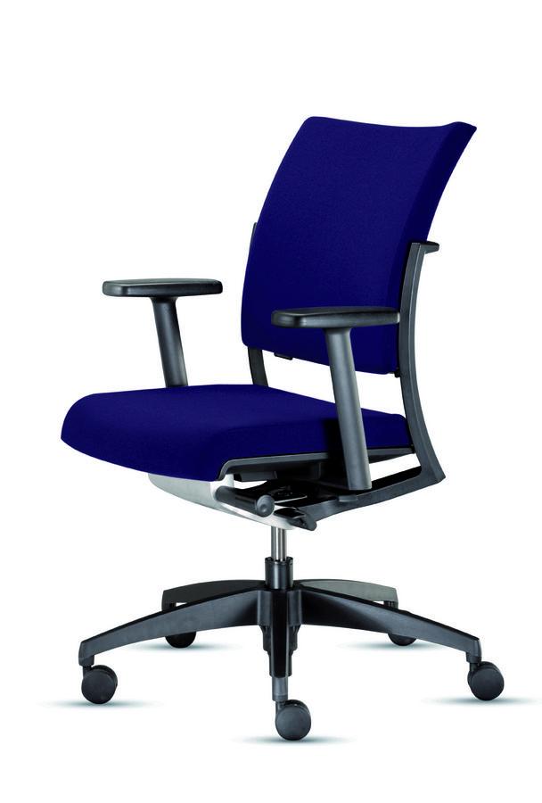 fauteuil de bureau s world tissu. Black Bedroom Furniture Sets. Home Design Ideas