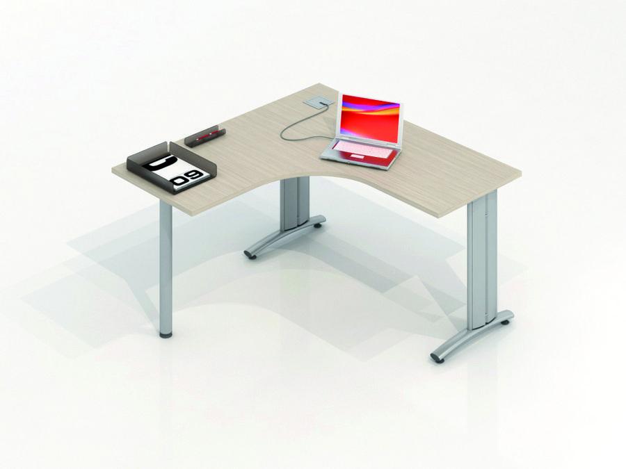 Bureau compact 90 sym trique vital plus 140x60 for Bureau 140x60