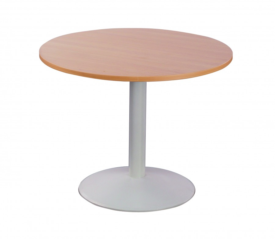 table ronde moka pi tement central en fonte 70 cm