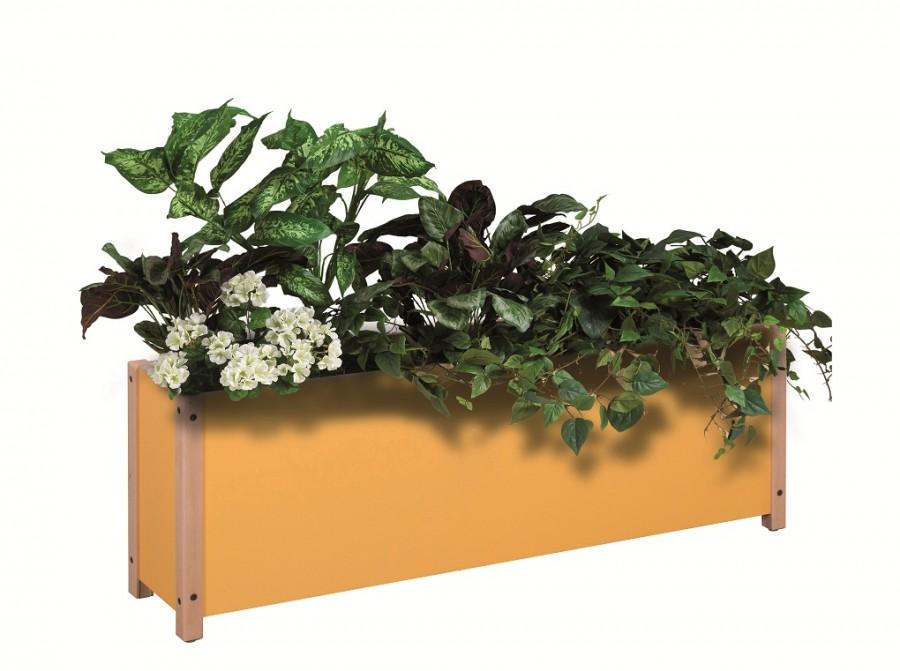Jardiniere avec fleurs artificielles - Fleur de jardiniere ...