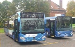 arc compi gne 21 nouveaux bus en circulation. Black Bedroom Furniture Sets. Home Design Ideas