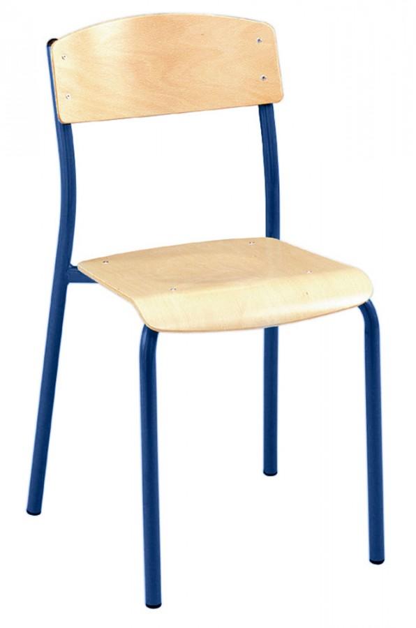 Chaise antib taille 6 pi tement bleu ouessant lot de 4 - Chaise lot de 6 ...