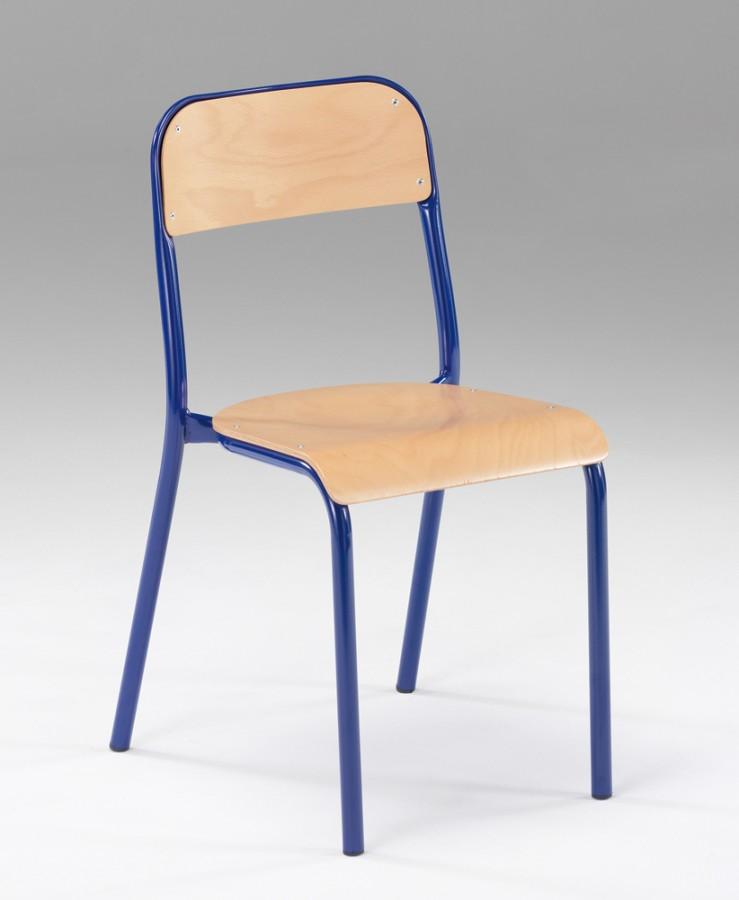 Chaise 6 4 Bleu Lot Prima Piétement Taille Ouessant De PkZXiOu