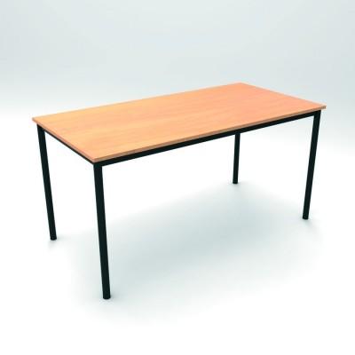 Table d 39 atelier 200 x 100 cm hauteur 100 cm plateau - Table hauteur 100 cm ...