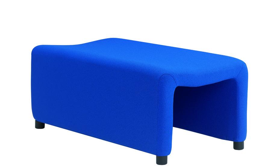 pouf 2 places surf tissu. Black Bedroom Furniture Sets. Home Design Ideas