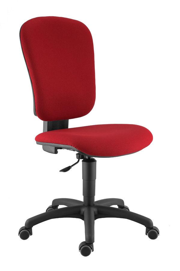 chaise de bureau bella tissu. Black Bedroom Furniture Sets. Home Design Ideas