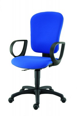fauteuil de bureau bella tissu. Black Bedroom Furniture Sets. Home Design Ideas