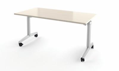 table pliante fliptop twin 200x80 pi tement mobile plateau m lamin rabattable. Black Bedroom Furniture Sets. Home Design Ideas