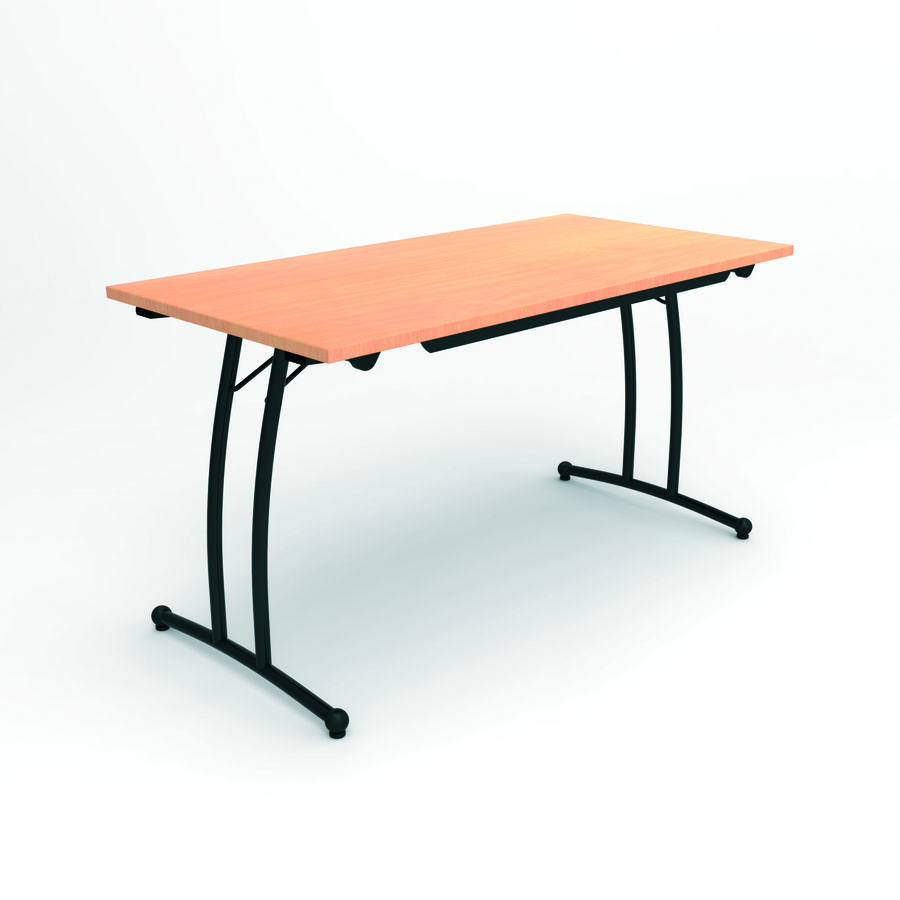 Pietement de table pliante for Table pliante