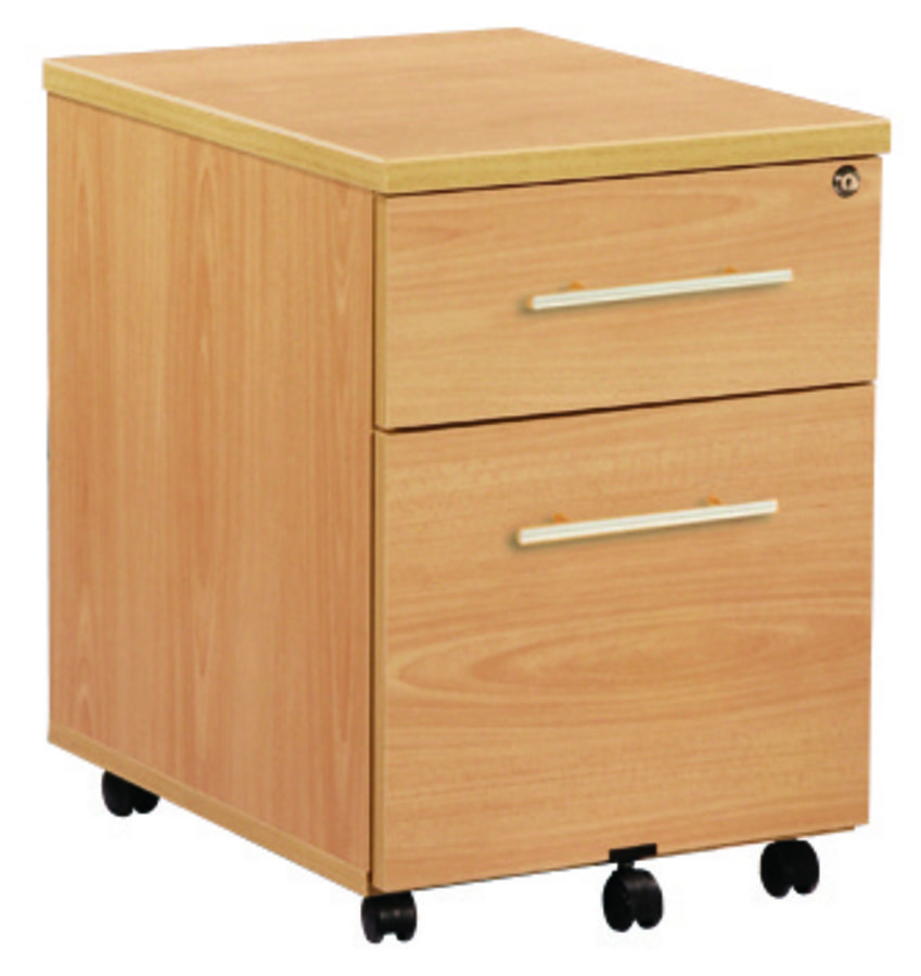 caisson mobile majesty 1 tiroir plat 1 tiroir dossiers. Black Bedroom Furniture Sets. Home Design Ideas