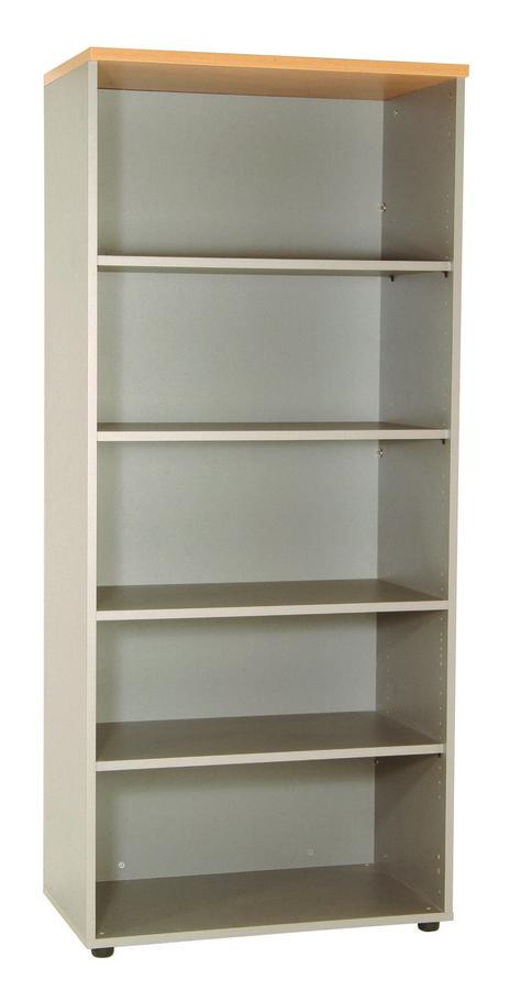 biblioth que ouverte m lamin majesty 183x80 4 tablettes m lamin. Black Bedroom Furniture Sets. Home Design Ideas