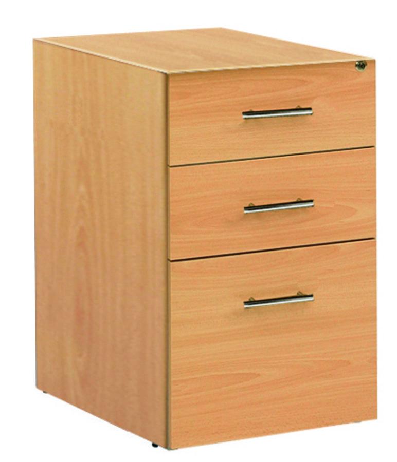 caisson hauteur bureau lum a 2 tiroirs plats 1 tiroir pour dossiers suspendus sans coiffe. Black Bedroom Furniture Sets. Home Design Ideas