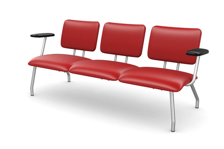 banquette 3 places avec accoudoirs ama a simili cuir. Black Bedroom Furniture Sets. Home Design Ideas