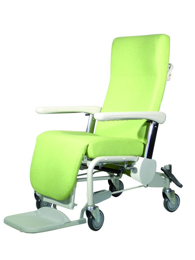 fauteuil de repos sur roues hemo accoudoirs r glables. Black Bedroom Furniture Sets. Home Design Ideas