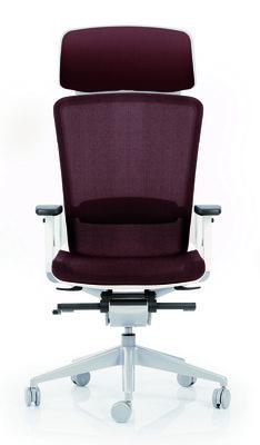 fauteuil de bureau e6 assise et dossier r sille knit pi tement poxy avec appui t te. Black Bedroom Furniture Sets. Home Design Ideas