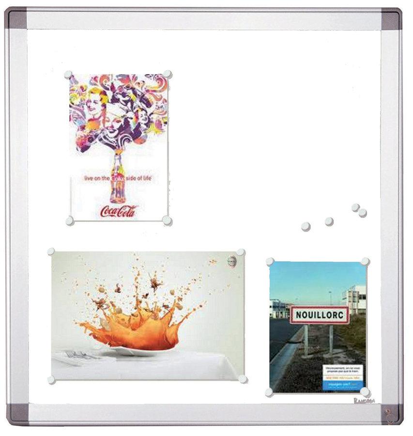 Vitrine d 39 ext rieur murale porte battante en verre for Vitrine exterieur