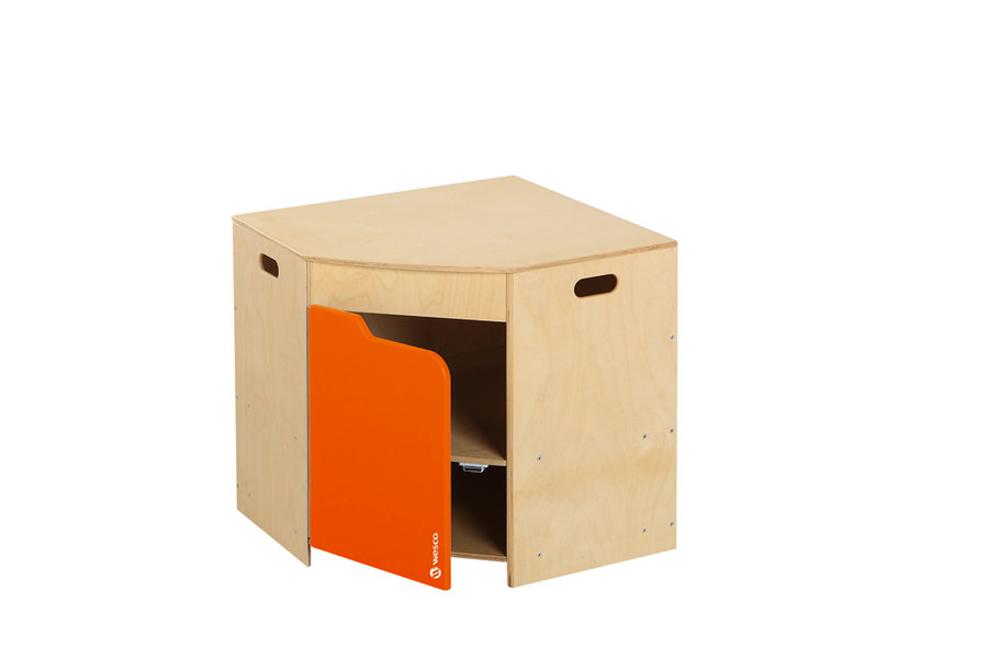 Meuble d 39 angle marmiton orange for Meuble orange