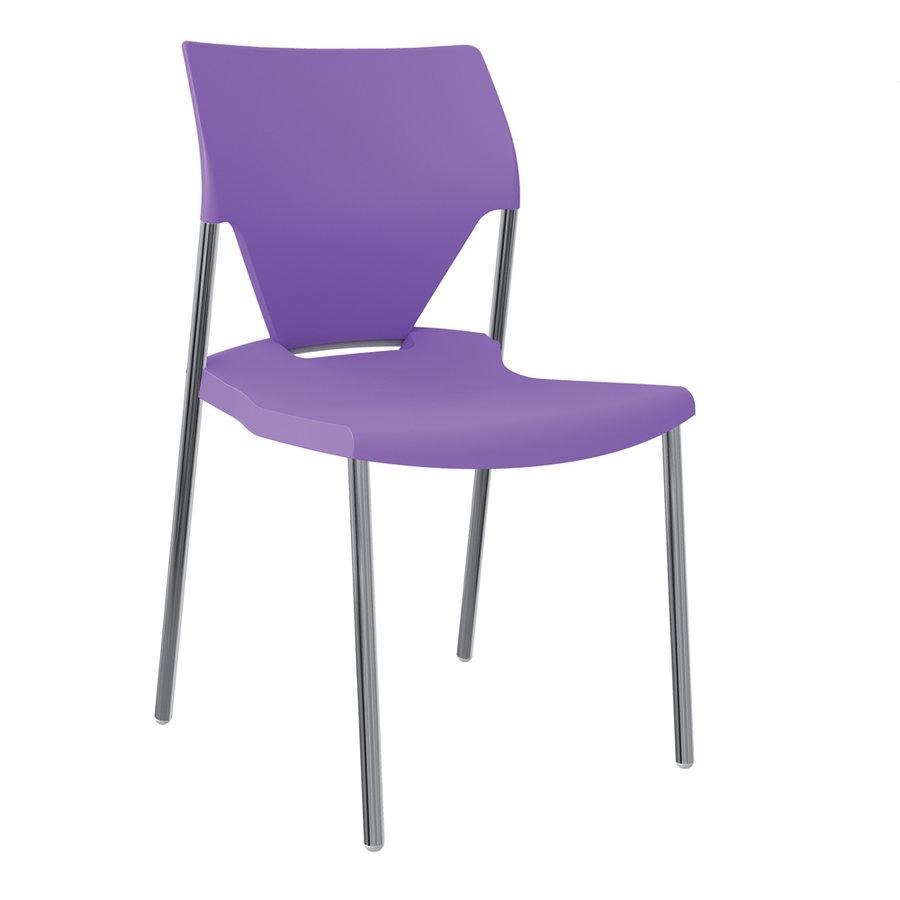 chaise 4 pieds ioko polypropyl ne sans placet. Black Bedroom Furniture Sets. Home Design Ideas