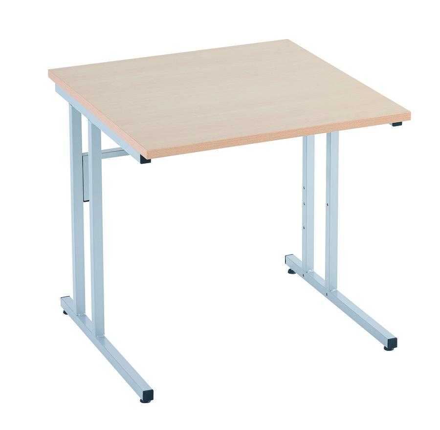 Table informatique dana cran pos 80 x 80 cm t6 for Table informatique