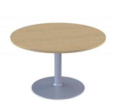 table de r union ronde 4 places corial pi tement central. Black Bedroom Furniture Sets. Home Design Ideas