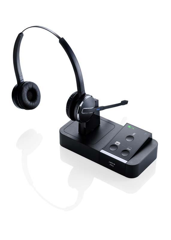 casque sans fil pour t l phone ip jabra pro 9450 duo avec inverseur casque combin prix de 1. Black Bedroom Furniture Sets. Home Design Ideas