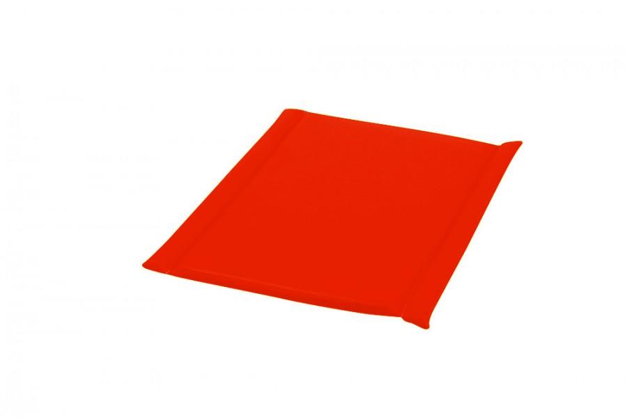 matelas de change pour table et meuble langer look o p 2 cm orange. Black Bedroom Furniture Sets. Home Design Ideas