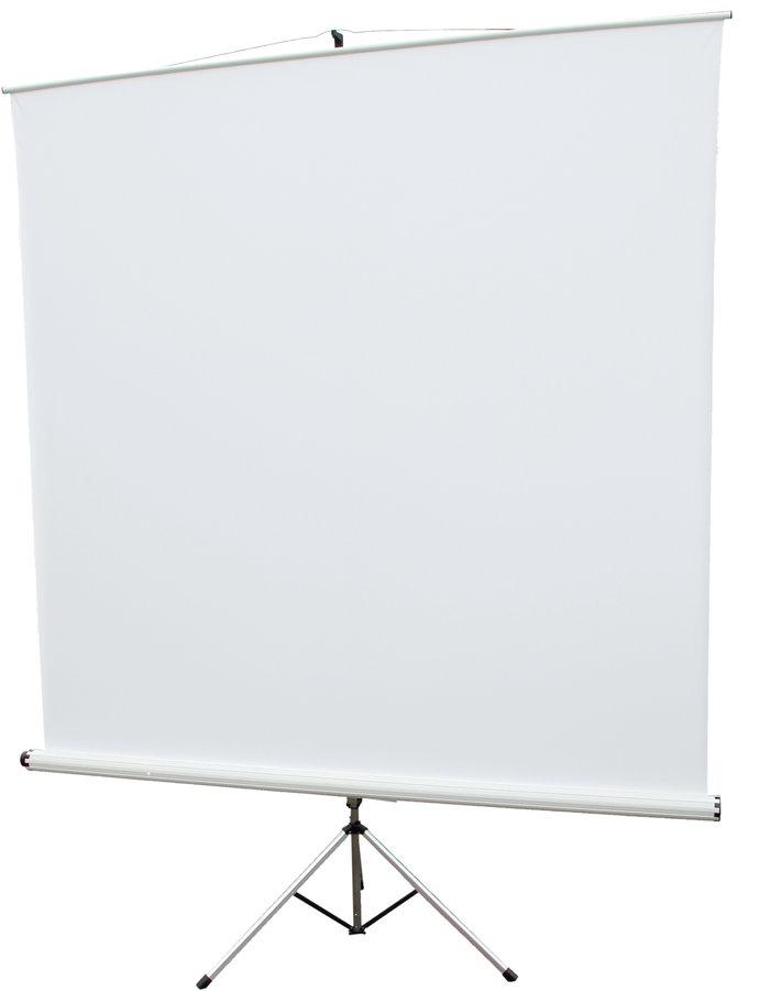 ecran de projection sur pieds roulette oray style 180x180cm. Black Bedroom Furniture Sets. Home Design Ideas