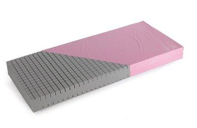 matelas comfort care p4 plots p 17 cm avec housse mousse hr41. Black Bedroom Furniture Sets. Home Design Ideas