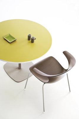 Table ronde tamaris diam tre 100 cm pi tement socle Table ronde 100 cm