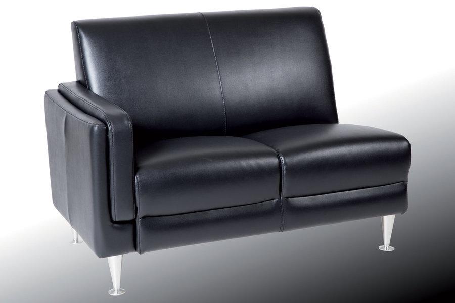 canap 2 places modulaire luxor simili cuir. Black Bedroom Furniture Sets. Home Design Ideas