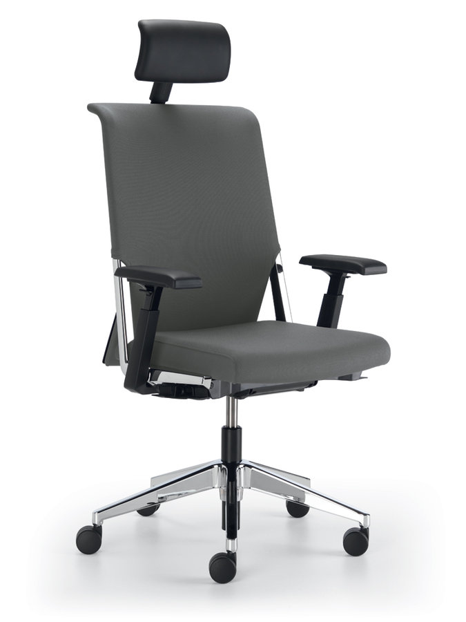 fauteuil de bureau comforto 59 tissu avec appui t te. Black Bedroom Furniture Sets. Home Design Ideas