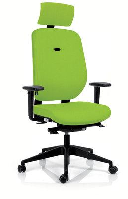 fauteuil de bureau artech tissu pi tement noir avec appui t te. Black Bedroom Furniture Sets. Home Design Ideas