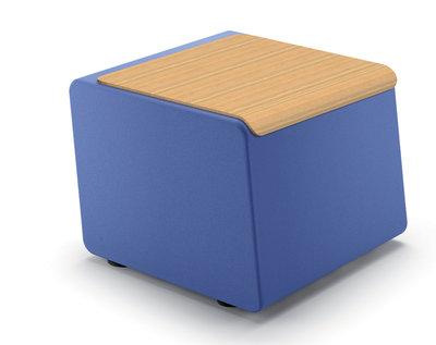 table basse m rida tissu x bois plateau ch ne blanchi. Black Bedroom Furniture Sets. Home Design Ideas
