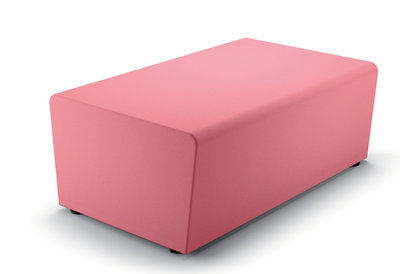 pouf 2 places m rida tissu s. Black Bedroom Furniture Sets. Home Design Ideas